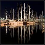 Cannes port nuit 04
