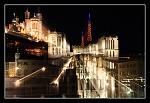 Lyon nuit, effet !